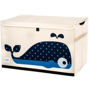 3 Sprouts Toy Chest Whale