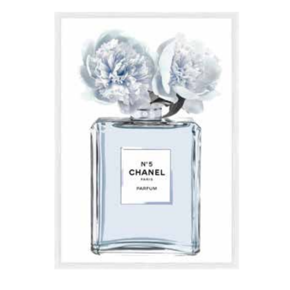 Chanel Flowers Blue