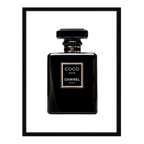 Coco Noir with Gloss Art Frame