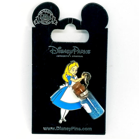 Drink Me Alice Pin