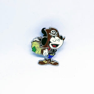 Mickey Pirate Pin - Booster Pack