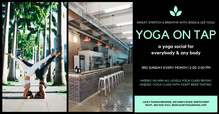 YOGA ON TAP with Jessica Lee Yoga