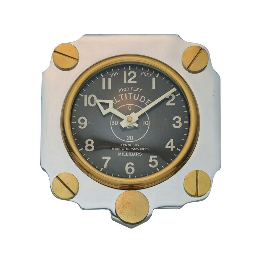 Altimeter Wall Clock - WWII Army Air Corps Aircraft - Rustic Deco Incorporated