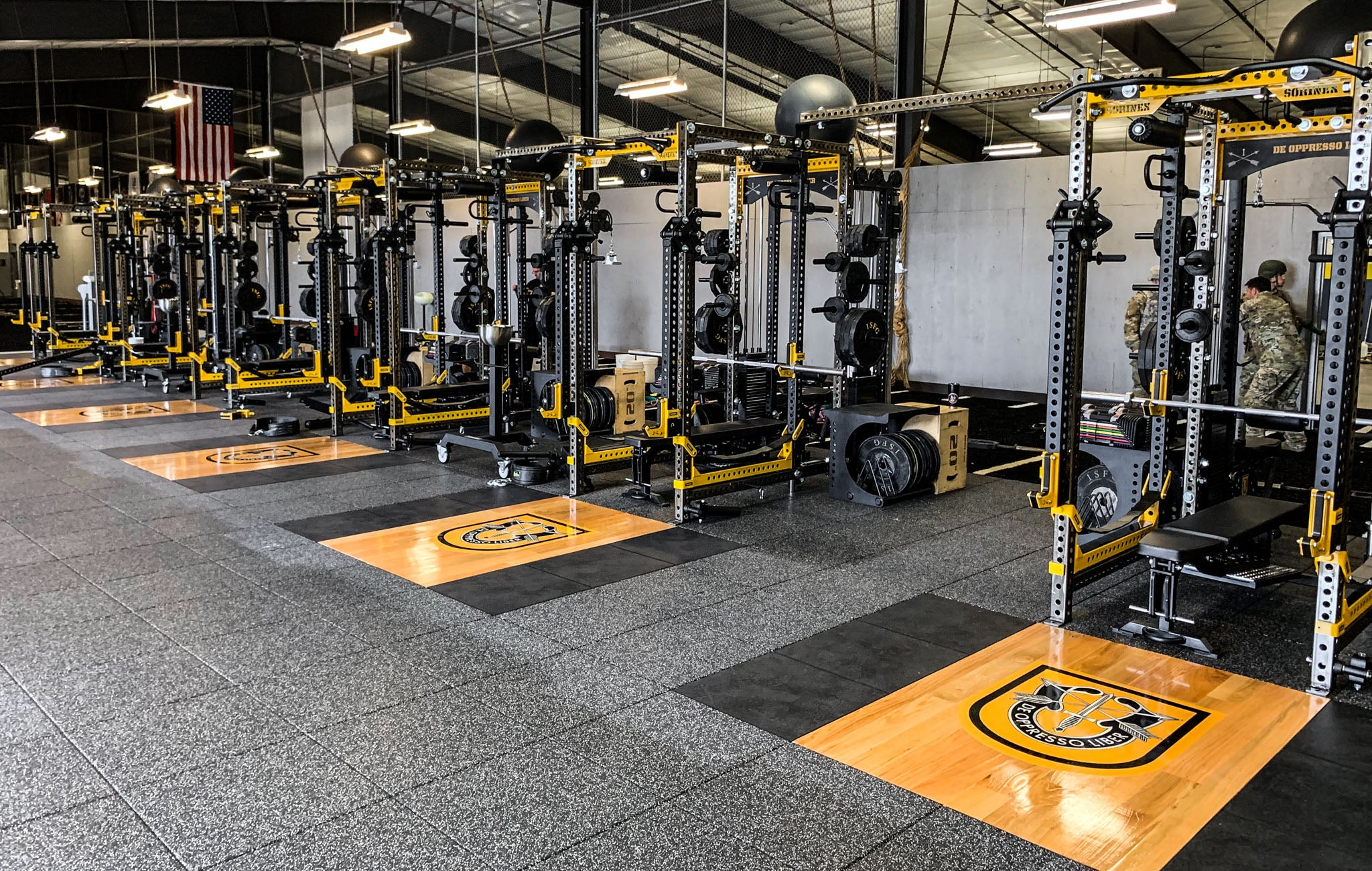 1st SFG Military Weight Room
