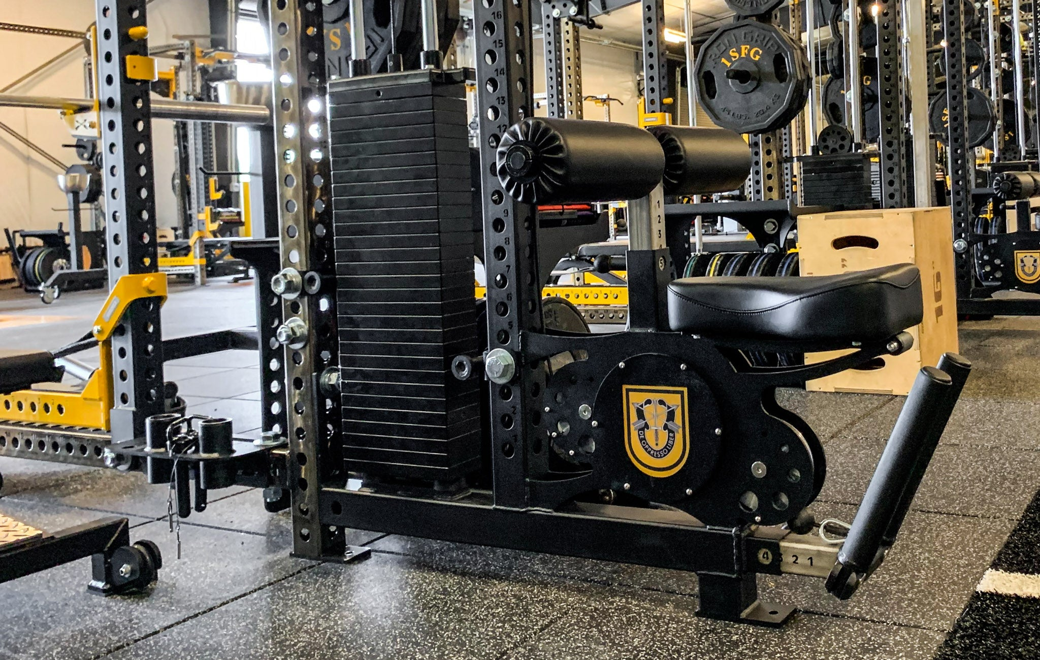 De Oppresso Liber Weight Rooms
