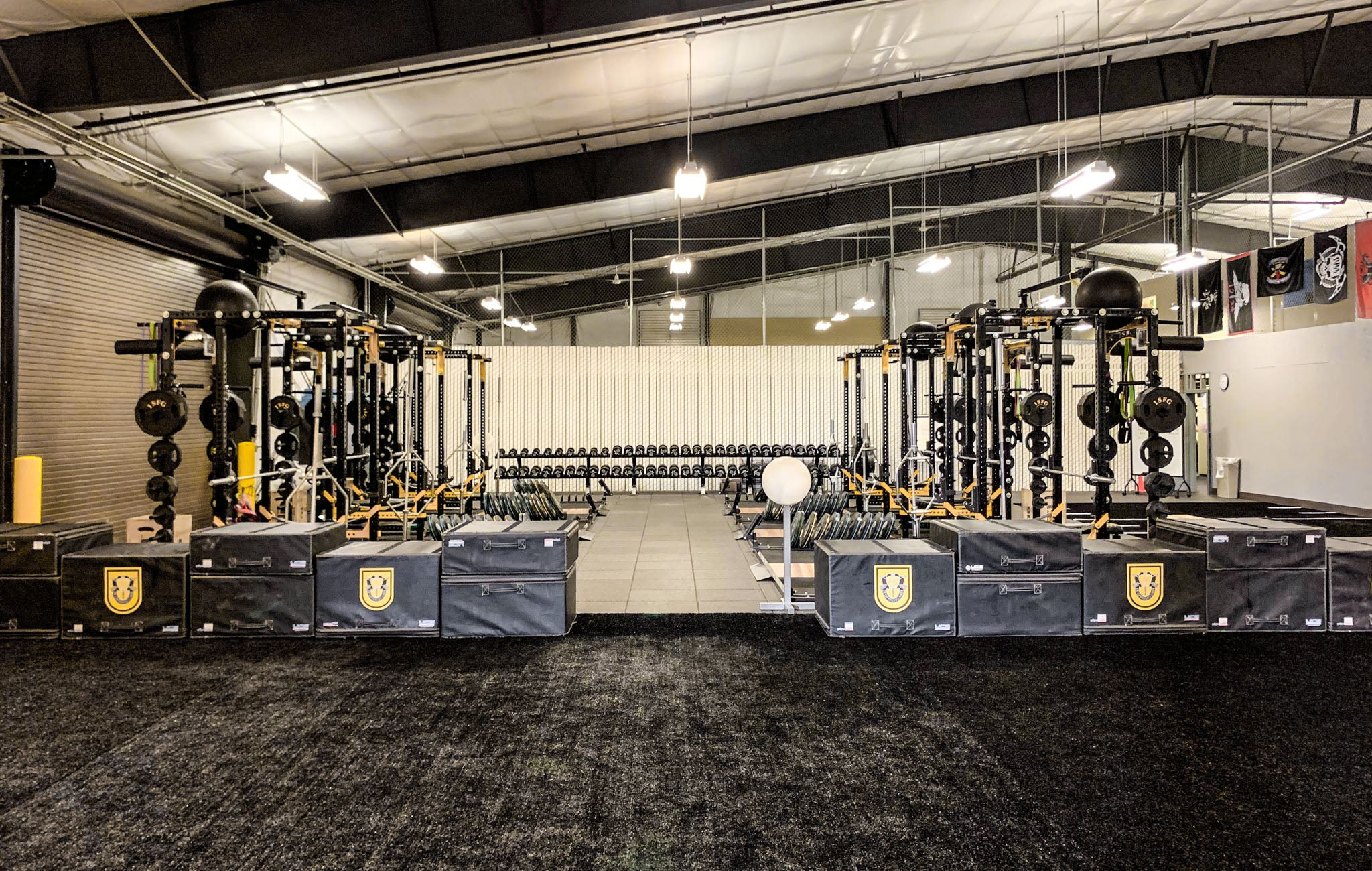 Sorinex Military Weight Rooms