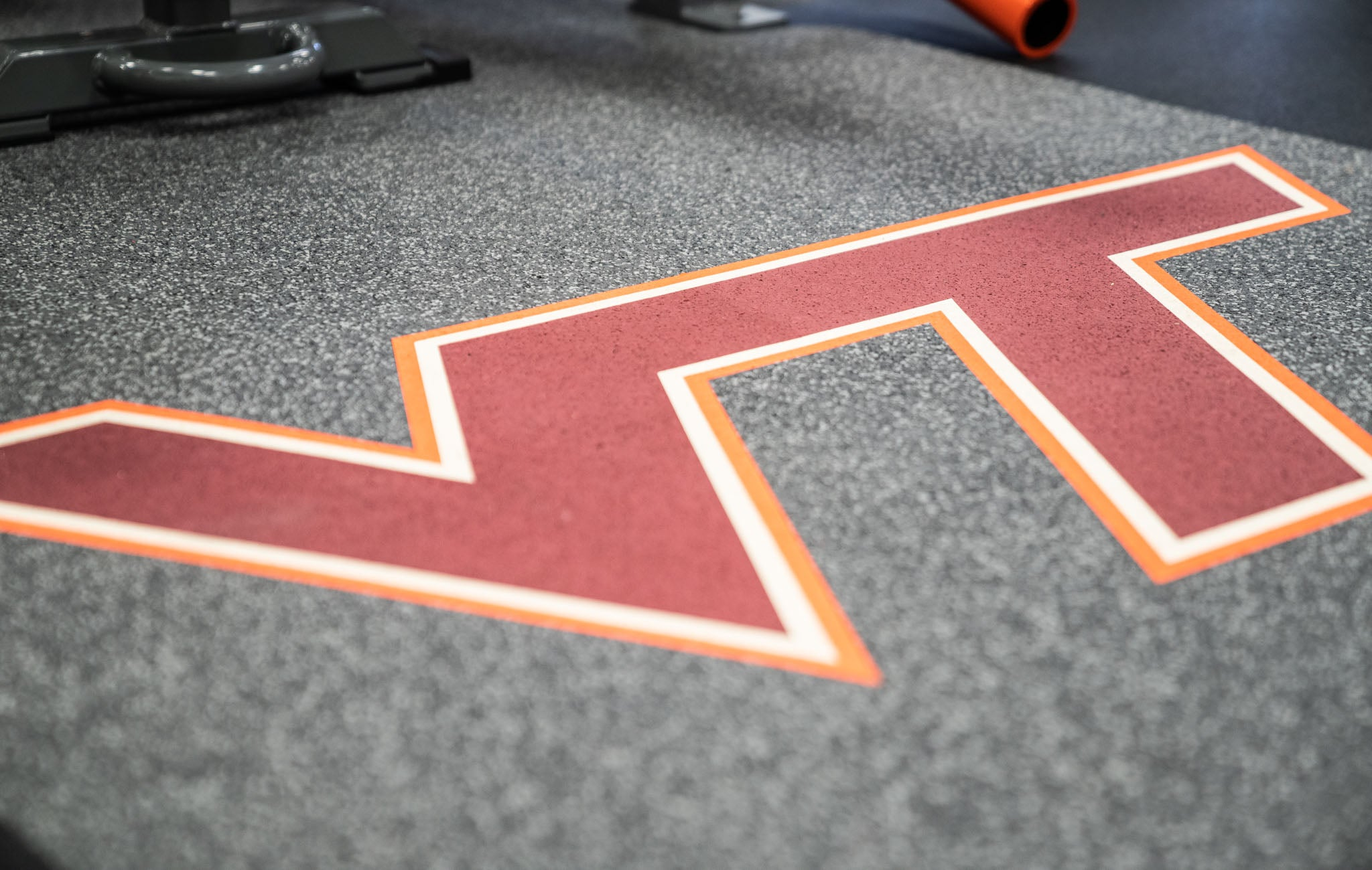 Virginia Tech Weight Room Flooring