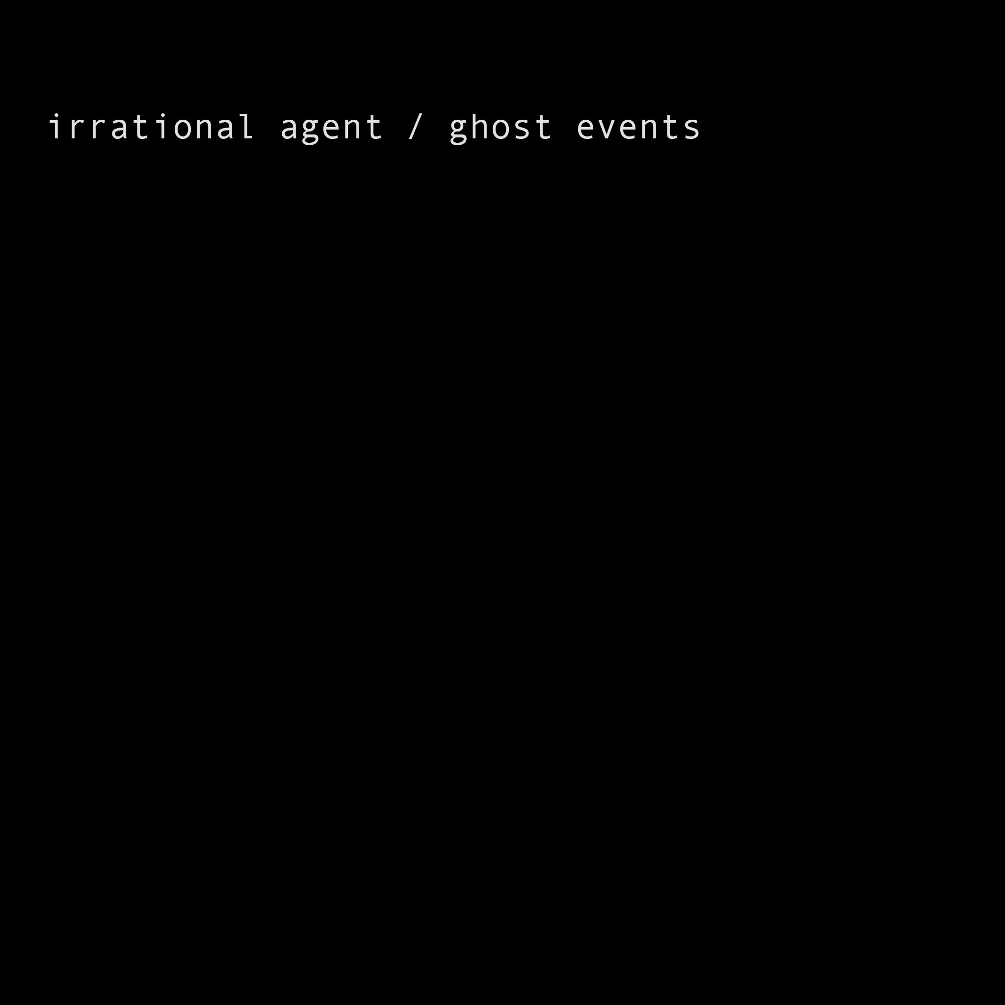 A DARK PLOT OF LAND Irrational Agent / Ghost Events