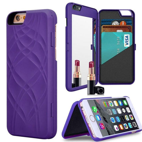IPHONE WALLET & MIRROR CASE