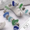 "The ""I Love All the Colors"" Ultimate Mermaid Sea Glass Bracelet"