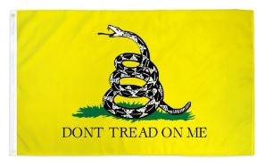 3' x 5' Poly Gadsden - Don't Tread on Me Flag