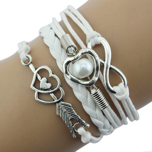 Infinity Love Layered Bracelet - Bliss Ever After