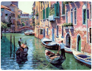 The Water Streets of Venice - LOVIELO