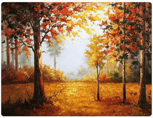 Splendid Forest In The Autumn - LOVIELO