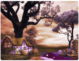 A Romantic Home And Purple Trees - LOVIELO