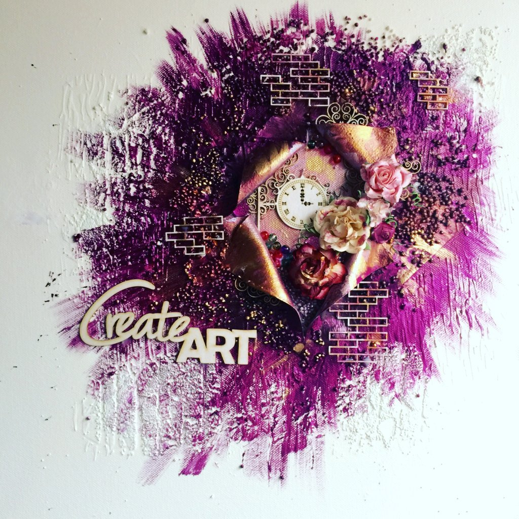 Create Art Exploding Canvas (Kit Option Available)