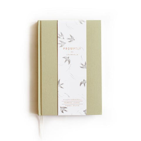 Promptly Childhood Journal - Sage, canada,- Minna.ca