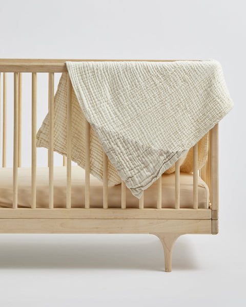 Willaby Geo Baby Blanket - Clay, canada,- Minna.ca