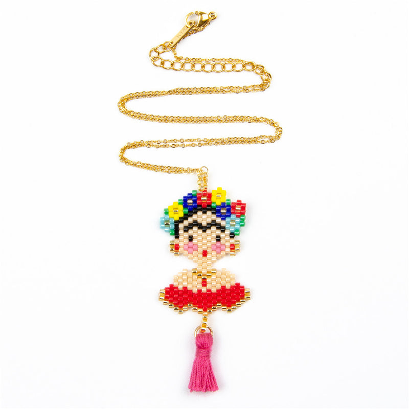 Frida Beads Necklace