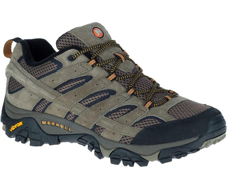 Men's Merrell Moab 2 Vent 2E (Wide) - men's hiking shoes - Sports 4
