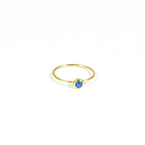 Dot Gold Ring