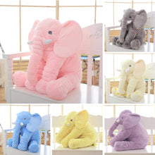Load image into Gallery viewer, BABY ELEPHANT PILLOW - TuneUpTrends.com
