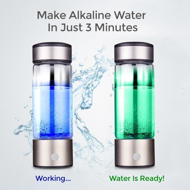 Portable Water Ionizer - TuneUpTrends.com