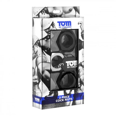 Tom of Finland 3 Piece C. Ring Nuts