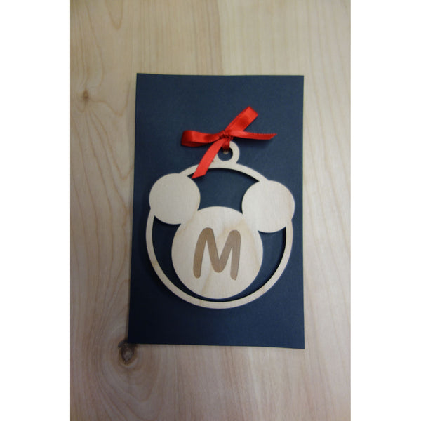 CUSTOM ORDER Mickey Mouse Inspired Ornament