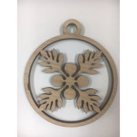 Ulu Quilt Christmas Ornament