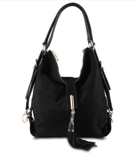 Soft Suede Hobo Bag-Boots N Bags Heaven