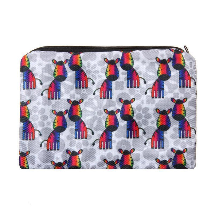 Full-Print Cosmetic Pouch Bag 2018 Collection - backup-Boots N Bags Heaven