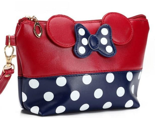 Cute Mouse Cosmetic Bag-Boots N Bags Heaven