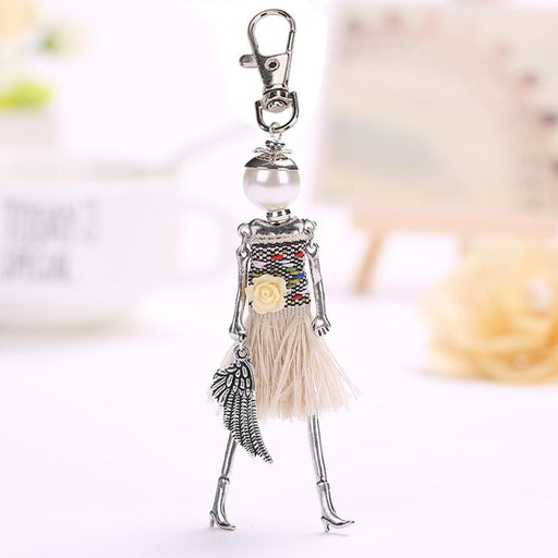 Fashionista Key Chain Dolls-Boots N Bags Heaven