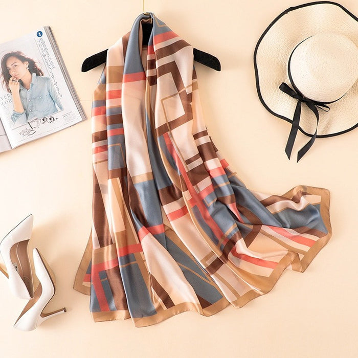Stylish and Soft Silk Shawl-Boots N Bags Heaven