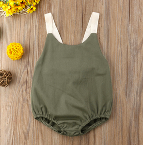 Kate Romper | Green | RTS