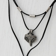 African Elephant Tiered Necklace