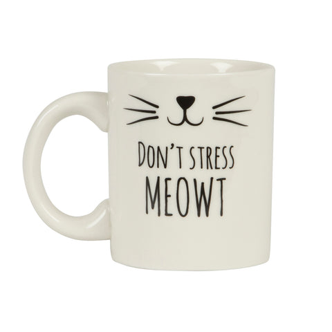 Sass & Belle Don't Stress Meowt Mug