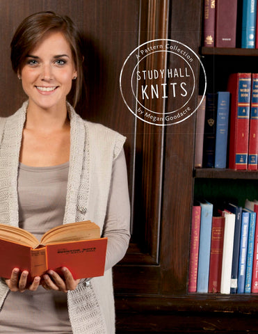 Study Hall Knits 6-Pattern collection-Downloadable knitting pattern-Tricksy Knitter