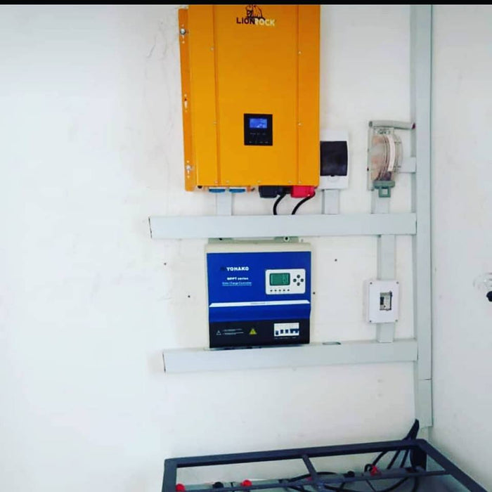 10kVA Inverter power system plan plus installation Complete system installation Wavetra Energy