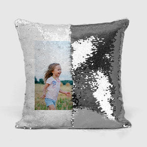 silver reveal cushion