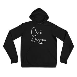 Chi Omega Scripted hoodie