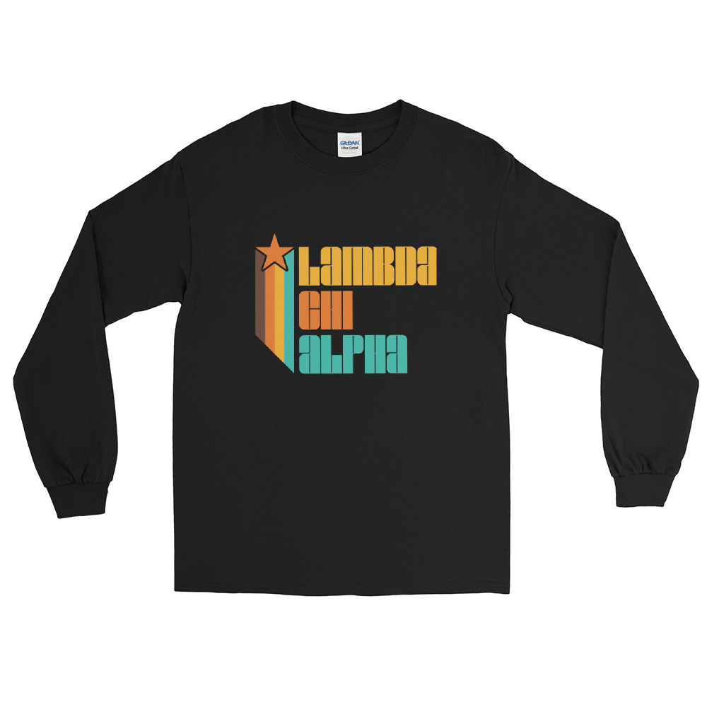 Lambda Chi Alpha Retro Long Sleeve T-Shirt