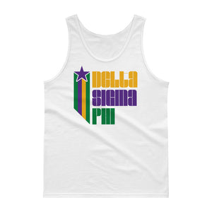 Delta Sigma Phi Retro COLOR Tank Top