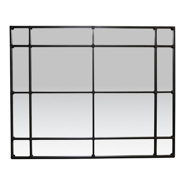 Shop Iron Mirror Rectangle 16 Pane at Rose St Trading Co