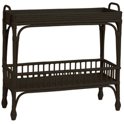 Shop Palm Springs Bar Cart- Black at Rose St Trading Co