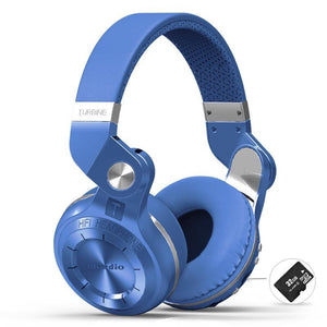 Bluedio T2+ Wireless Headphones with Microphone, MicroSD & FM Radio Support
