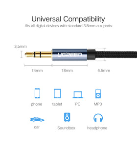 UGreen 3.5mm Jack AUX Audio Cable