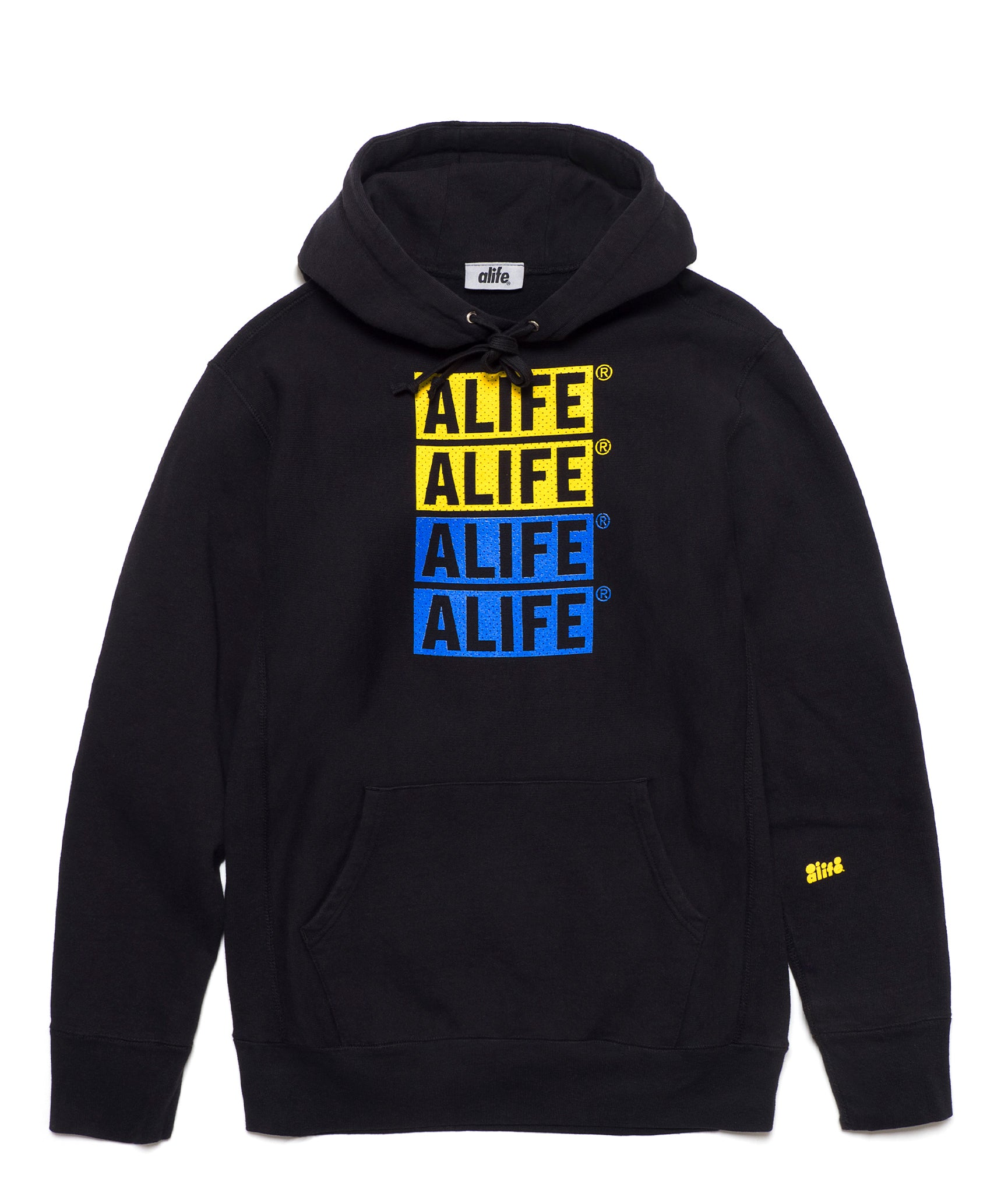 Alife Stacked Jersey Hoodie