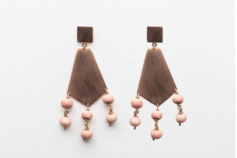 Klaylife Sizani Earrings - The Artisan Storeroom